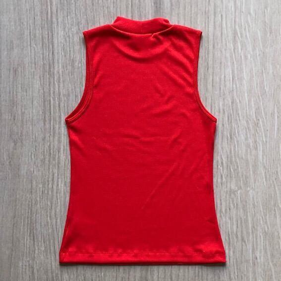 Blusa Canelada Golinha Vermelha