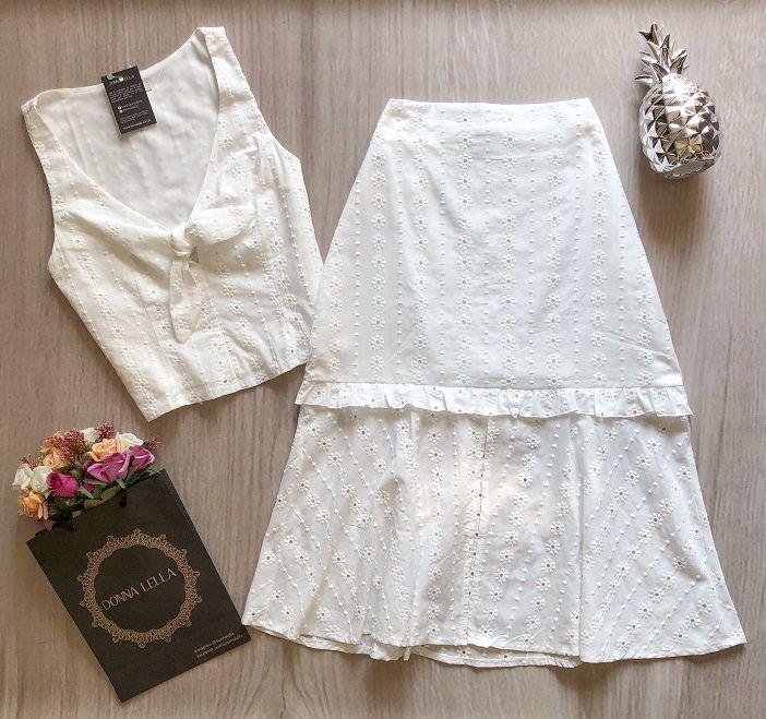 Blusa Laise Branco