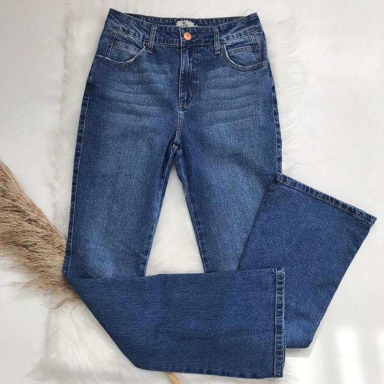 Calça Jeans Bootcut Mirella