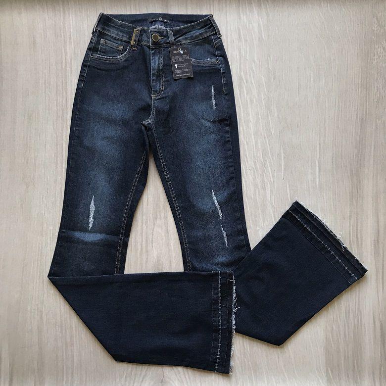 Calça Jeans Flare Tamara