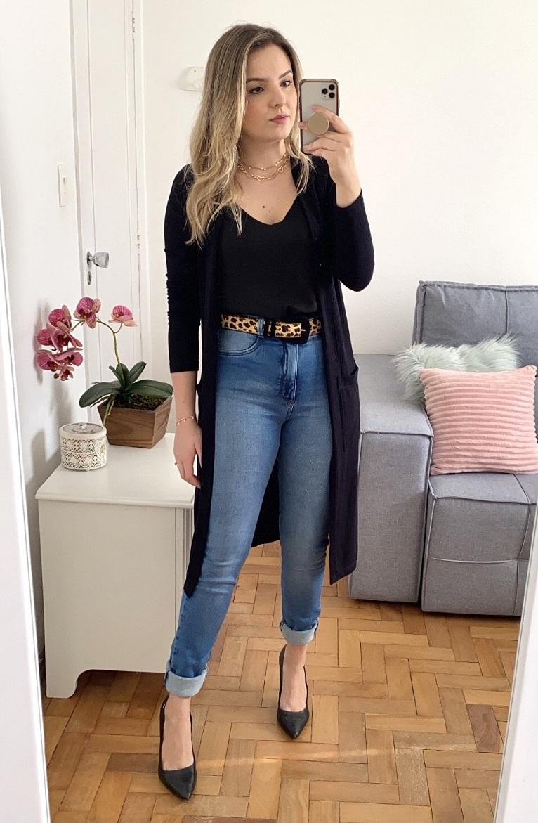 Calça Jeans Malha