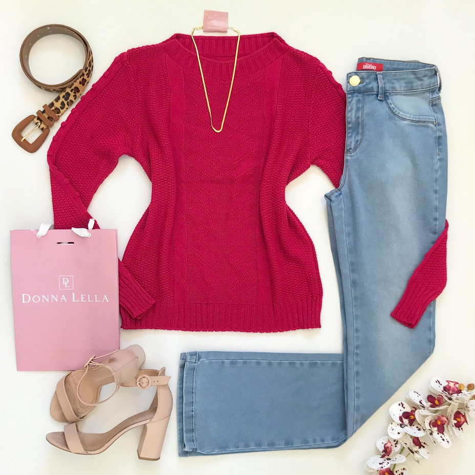 Calça Jeans Romana