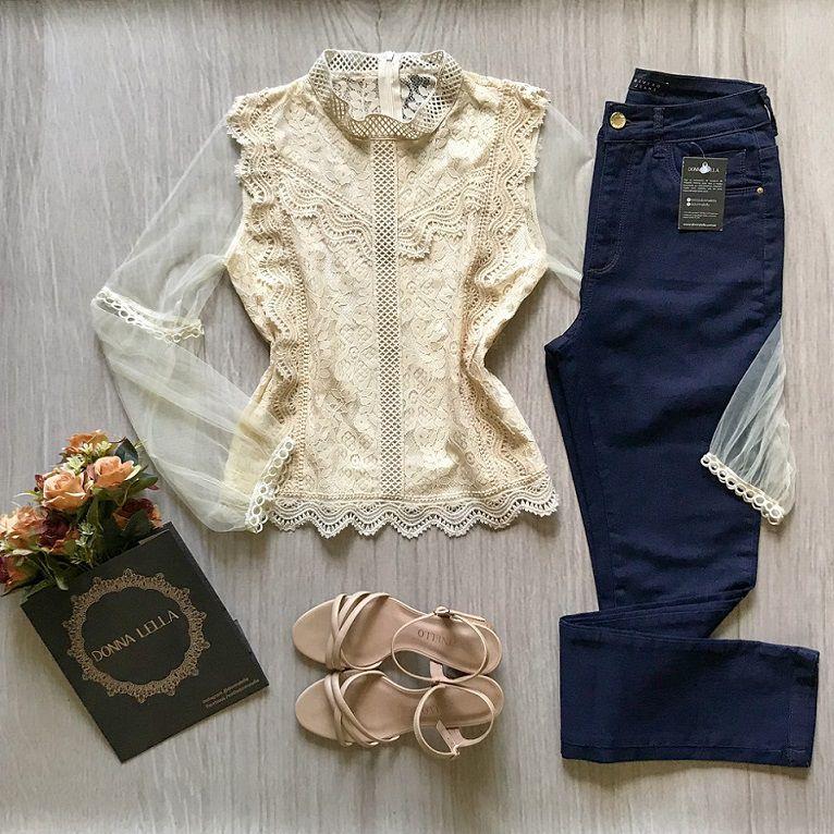Calça Jeans Skinny Básica