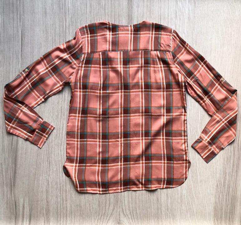 Camisa Xadrez Rosa