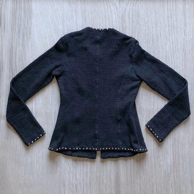 Casaco Tweed Bordado