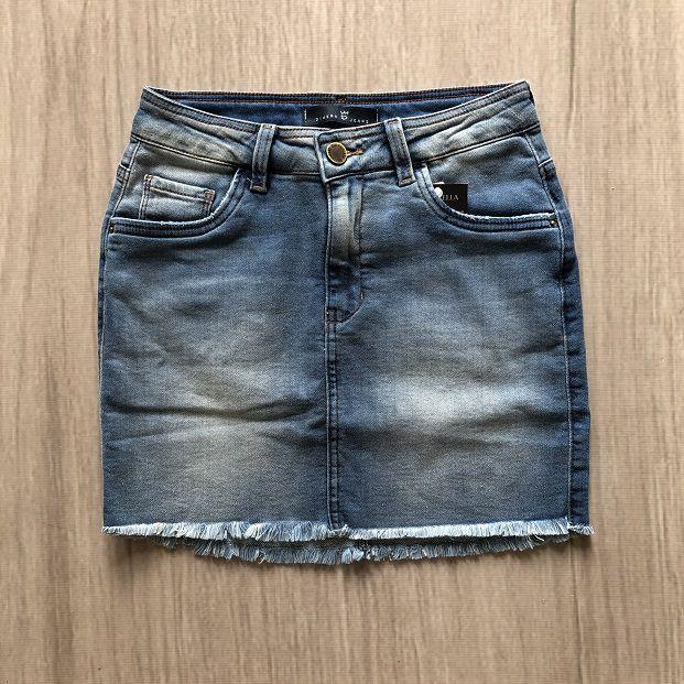 Saia Jeans Básica