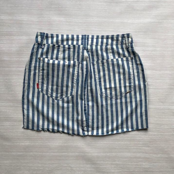 Saia Jeans Listrada