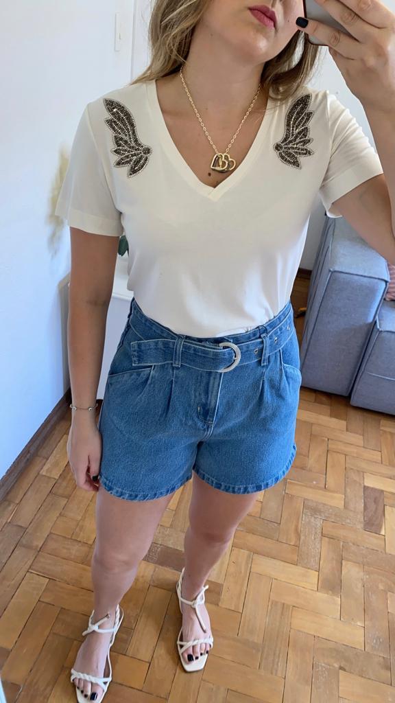 Short Mom Jeans Fivela