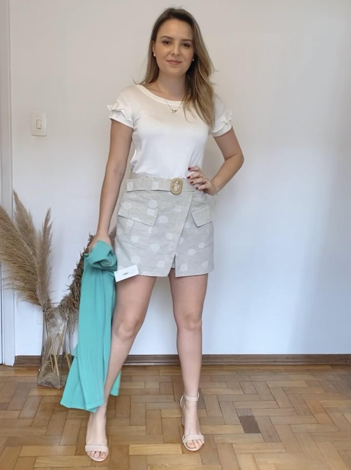 Short Saia Luz