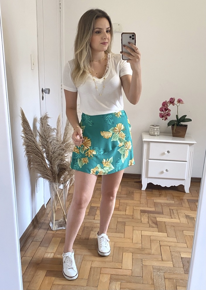 Short Saia Melanie