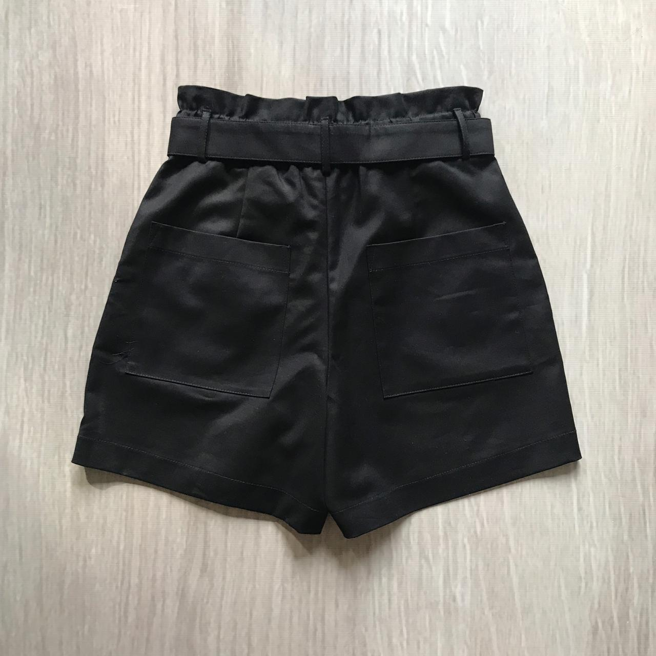 Shorts Alfaiataria Argola Cordão