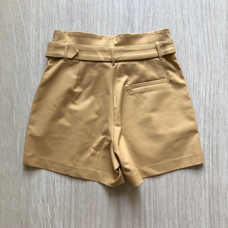 Shorts Caramelo CInto