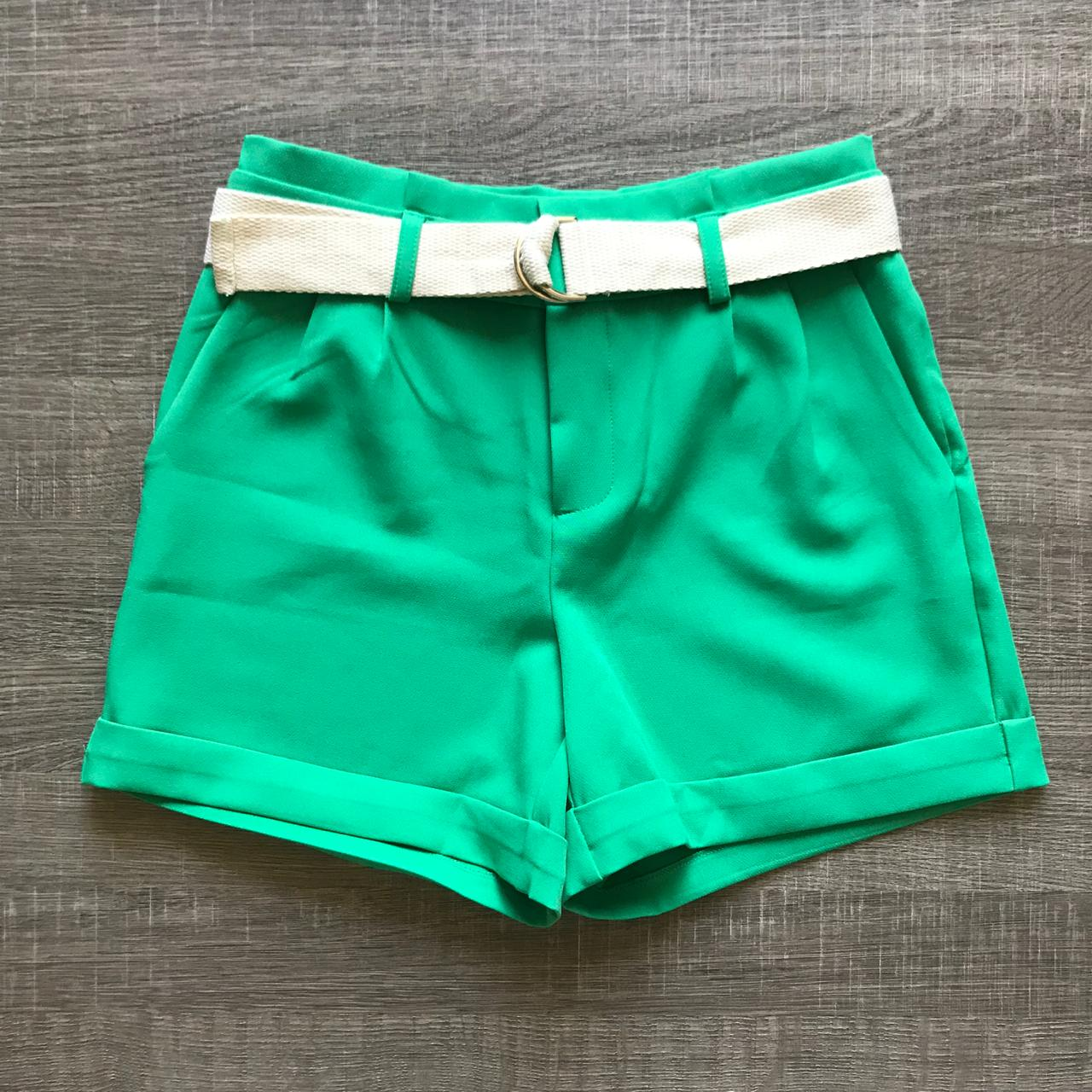Shorts Clochard Com Cinto
