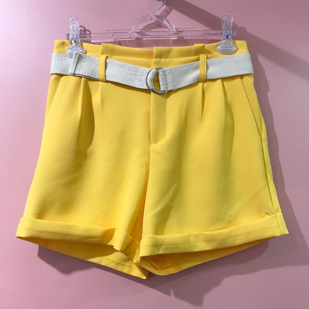Shorts Clochard Com Cinto