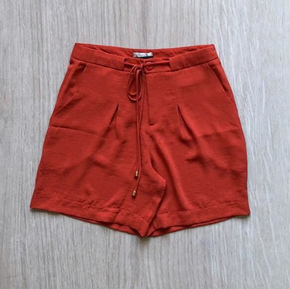 Shorts Crepe Terracota