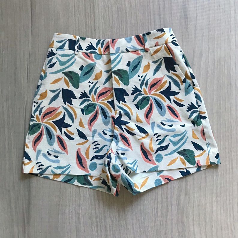 Shorts Estampado Mosaic