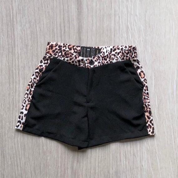 Shorts Faixa Animal Print