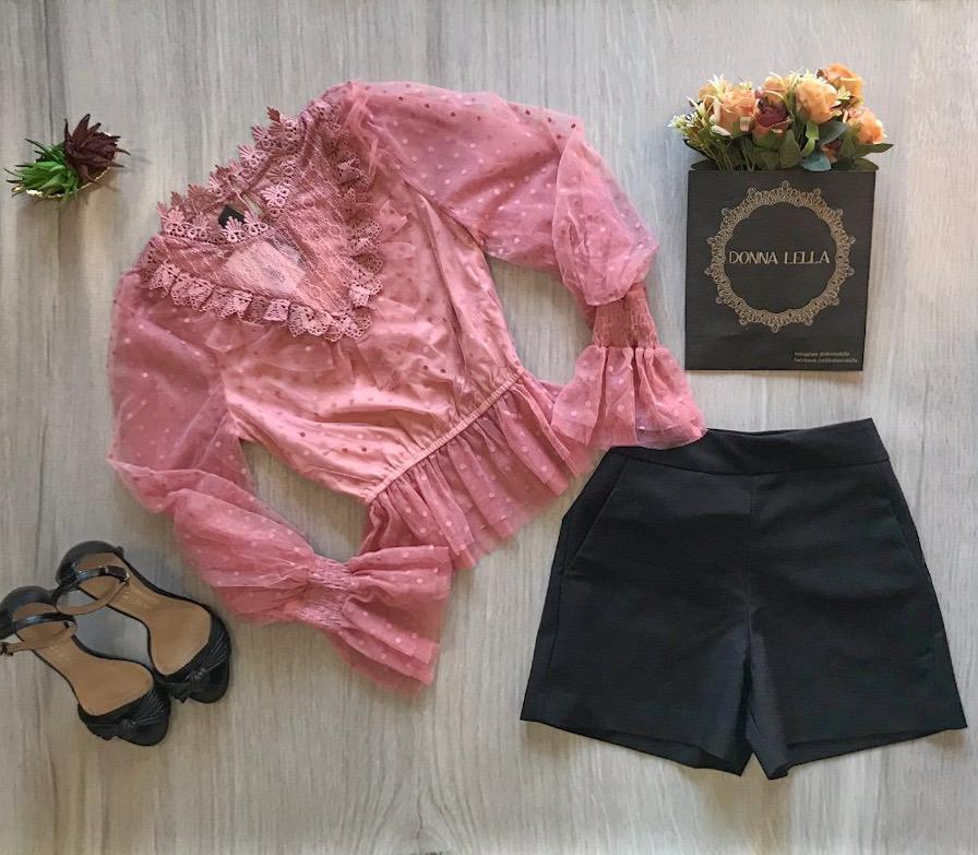 Shorts Poliana Preto