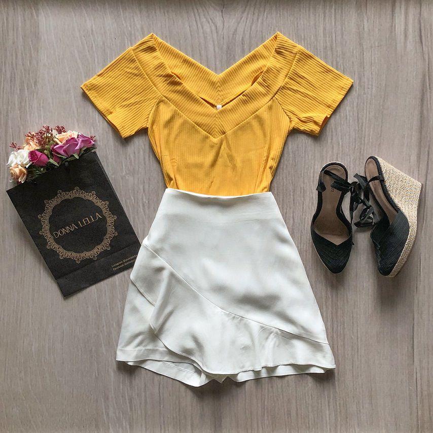 Shorts Saia Offwhite