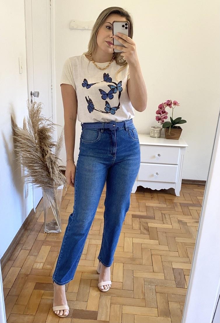 Tshirt Borboleta