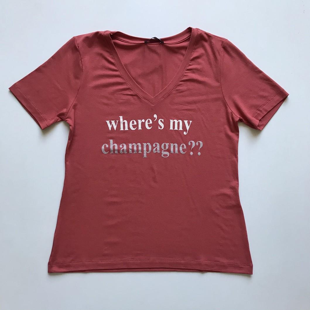 Tshirt Champagne