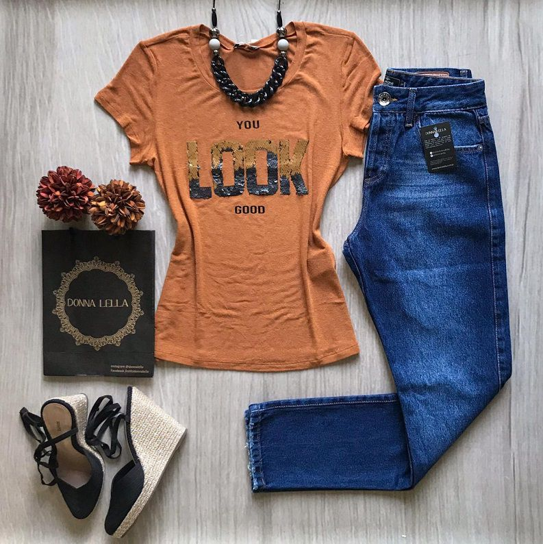 Tshirt Look