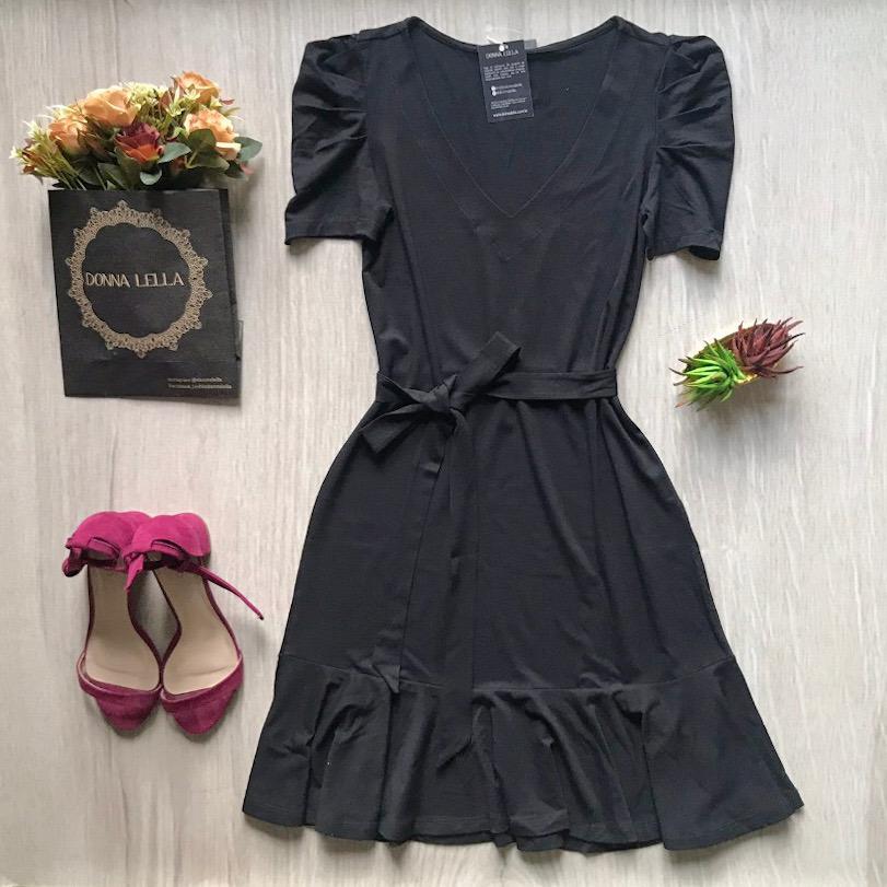 Vestido Andreia Preto
