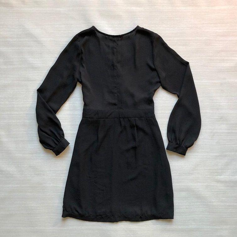 Vestido Crepe Transpassado