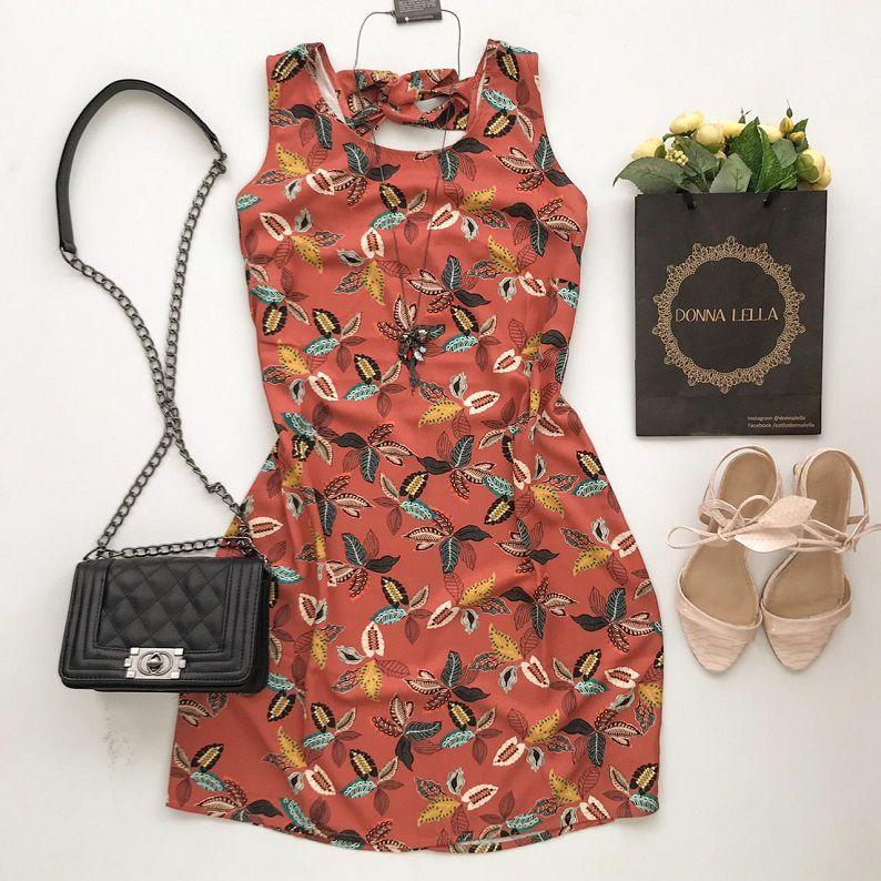 Vestido Estampado Florença