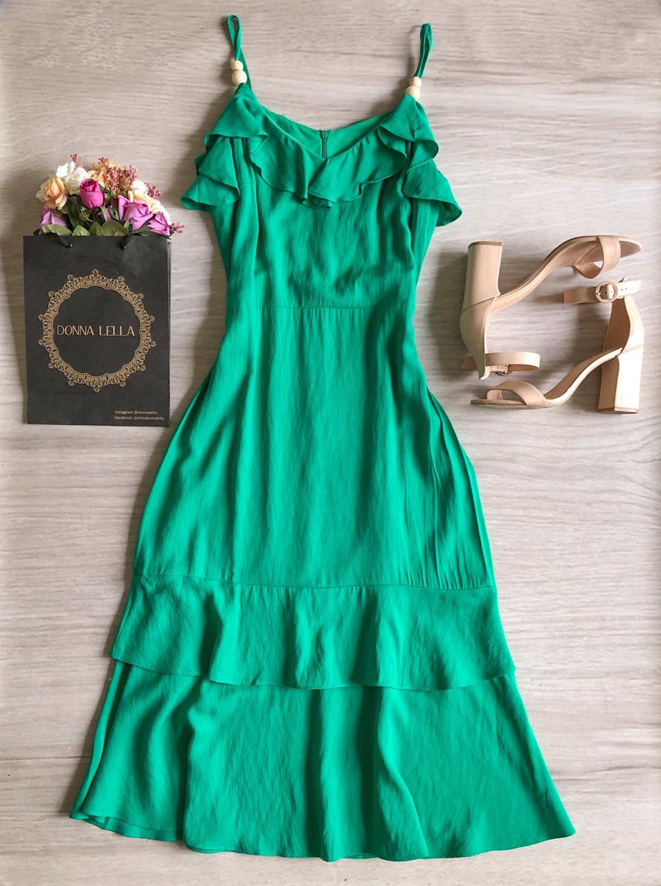 Vestido Gabriela Verde