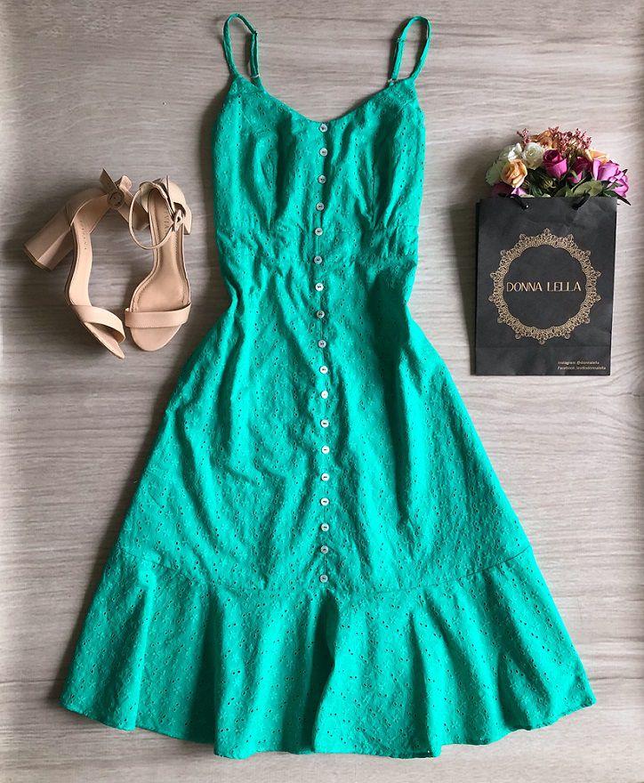Vestido Midi Laise Verde