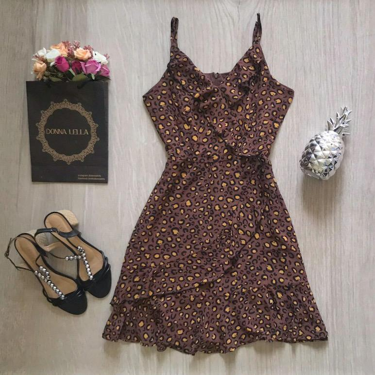 Vestido Nina Marrom