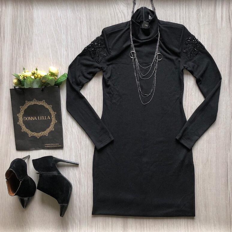 Vestido Tricot Gola