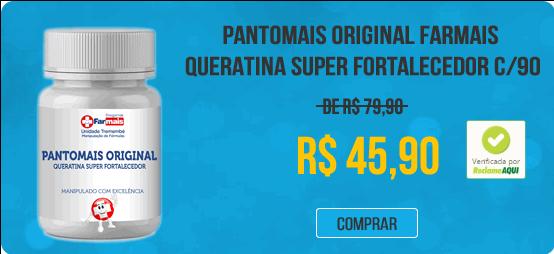 PANTOMAIS ORIGINAL FARMAIS QUERATINA SUPER FORTALECEDOR C/90