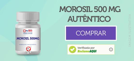 MOROSIL 500MG 60 CÁPSULAS COM SELO DE AUTENTICIDADE