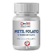 METIL FOLATO 1000MCG 5-MTHF 30CP + VIT K2 MK7 120MCG 60 CP