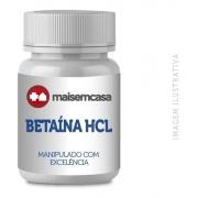 Betaína Hcl 600mg Pote 90 Cápsulas