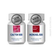 CACTIN 500MG + MOROSIL 500MG (AUXILIARES NO EMAGRECIMENTO)