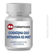 Coenzima Q10 100mg + Vit K2 Mk7 120mcg 150 Cp