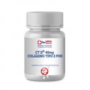 CT II ® 40mg COLÁGENO TIPO 2 PHD (COMBATE ARTRITE) CÁPS
