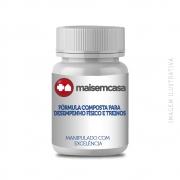 Fórmula composta para desempenho físico e treinos (dosagem intermediária)