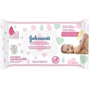 Lenços Umedecidos Johnson's Baby proteção da pele 96 Un