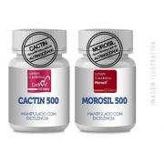 - Morosil 500mg 60 Cp + Cactin 500mg 120 Cp Selo Galena