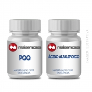 Pqq 20 Mg 30cp + Ácido Alfalipoico 100mg 60 Cp