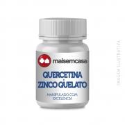 Quercetina 500mg + Zinco Quelato 50mg 120 Cps Veganas