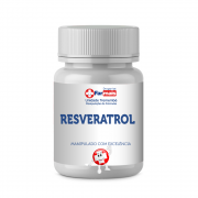 Resveratrol 100mg com 60 cápsulas