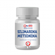 SILIMARINA 200MG + METIONINA 150MG - 60 CÁPSULAS