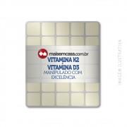 VITAMINA K2 150MCG + VITAMINA D3 2.000 UI, 120 TABLETES SUBLINGUAIS