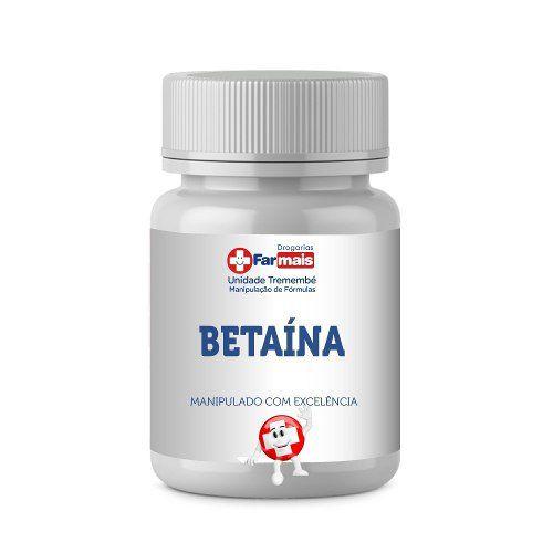 BETAÍNA HCL 600mg - POTE 120 Cp