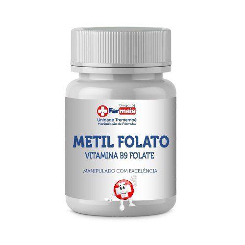 Metil Folato 1000mcg 5-mthf Forma Ativa 60 Caps